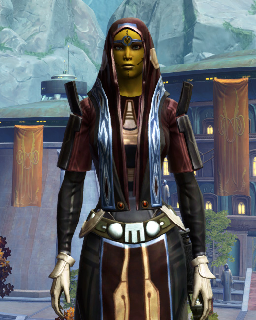 Traditional Brocart Armor Set Preview from Star Wars: The Old Republic.