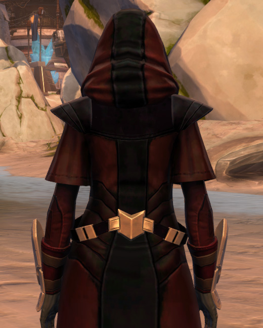 Trimantium Jacket Armor Set Back from Star Wars: The Old Republic.