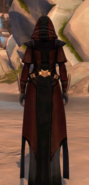 Trimantium Jacket Armor Set player-view from Star Wars: The Old Republic.