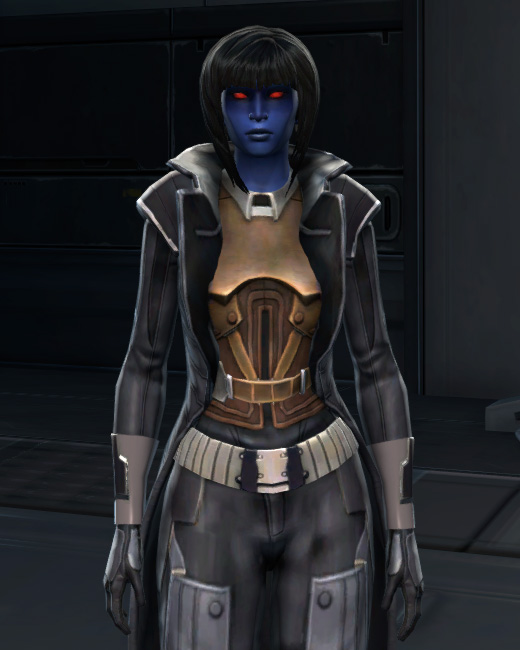 Troublemaker Armor Set Preview from Star Wars: The Old Republic.