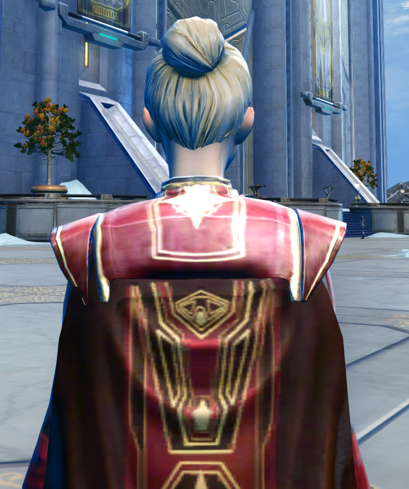 Ulgo Noble Armor Set detailed back view from Star Wars: The Old Republic.