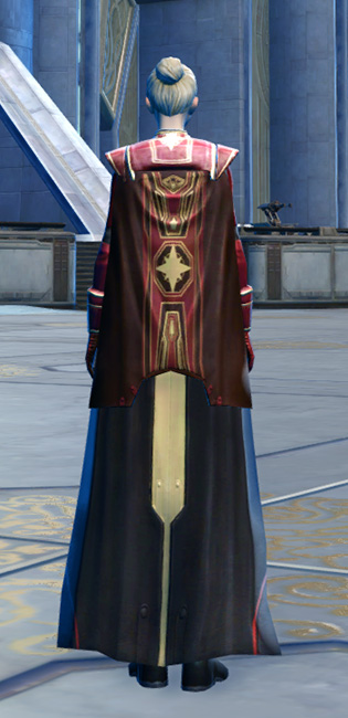 Ulgo Noble Armor Set player-view from Star Wars: The Old Republic.