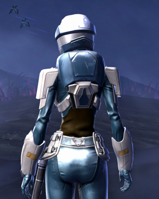 Umbaran Guardian Armor Set Back from Star Wars: The Old Republic.