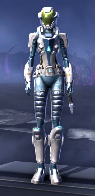 Umbaran Guardian Armor Set Outfit from Star Wars: The Old Republic.