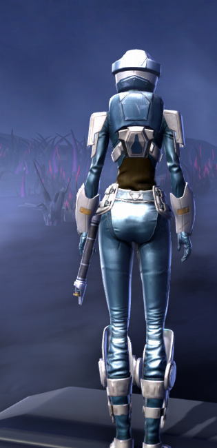 Umbaran Guardian Armor Set player-view from Star Wars: The Old Republic.