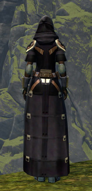 Unburdened Champion Armor Set player-view from Star Wars: The Old Republic.