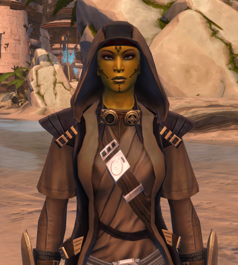 Veda Cloth Vestments Armor Set from Star Wars: The Old Republic.