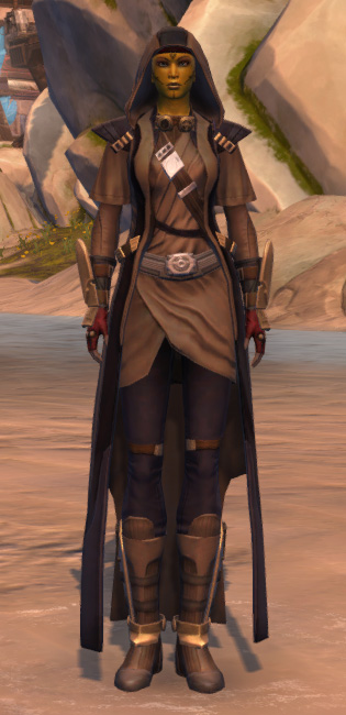 Veda Cloth Vestments Armor Set Outfit from Star Wars: The Old Republic.