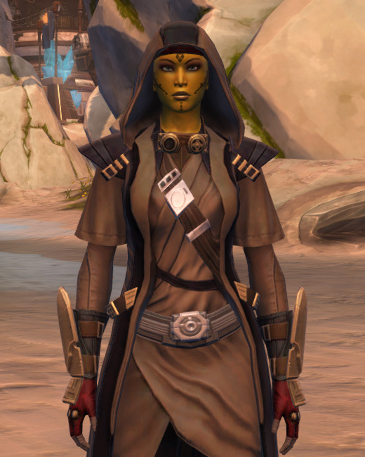 Veda Cloth Vestments Armor Set Preview from Star Wars: The Old Republic.