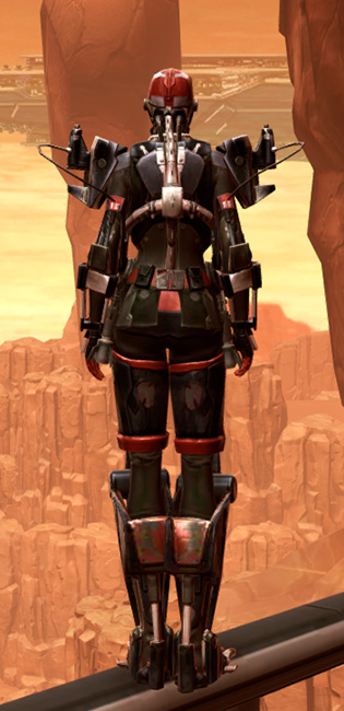 Veda Aegis Armor Set player-view from Star Wars: The Old Republic.