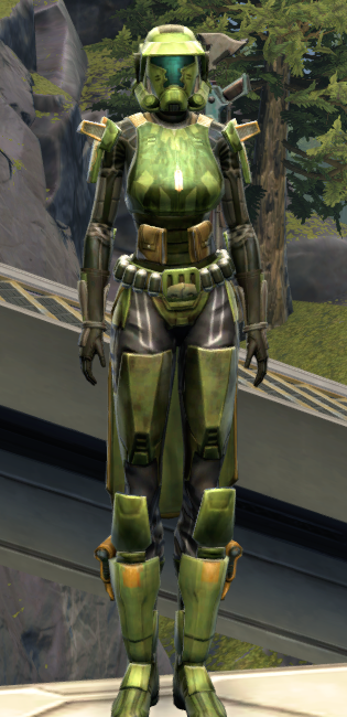 Veteran Ranger Armor Set Outfit from Star Wars: The Old Republic.
