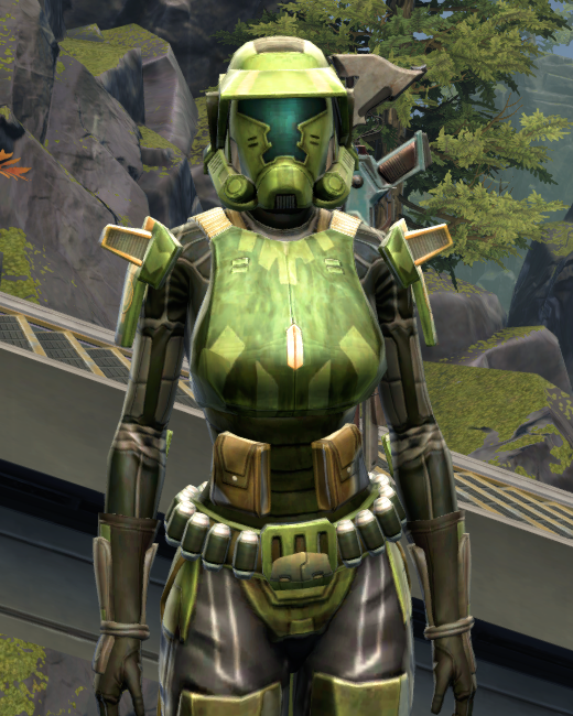 Veteran Ranger Armor Set Preview from Star Wars: The Old Republic.