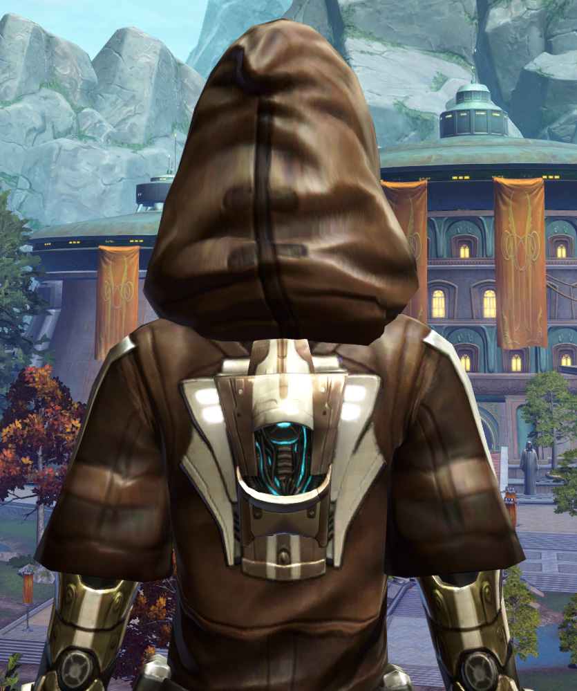 Vine-silk Aegis Armor Set detailed back view from Star Wars: The Old Republic.