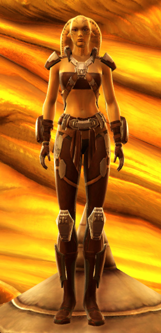 Vintage Brawler Armor Set Outfit from Star Wars: The Old Republic.