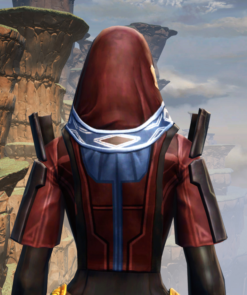 Voss Ambassador Armor Set detailed back view from Star Wars: The Old Republic.