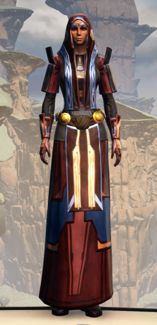 Voss Ambassador Armor Set Outfit from Star Wars: The Old Republic.