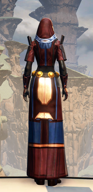 Voss Ambassador Armor Set player-view from Star Wars: The Old Republic.