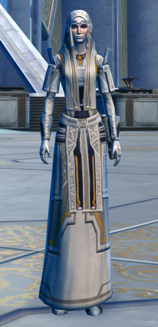 Voss Mystic Armor Set Outfit from Star Wars: The Old Republic.