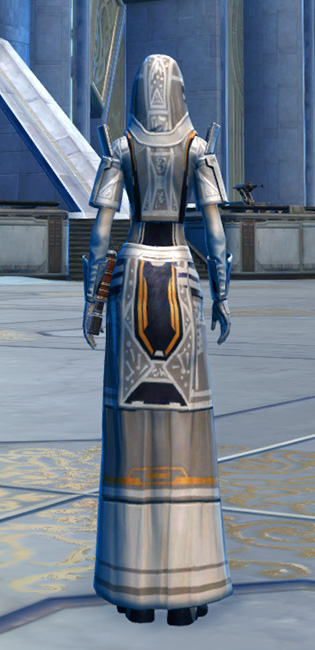 Voss Mystic Armor Set player-view from Star Wars: The Old Republic.
