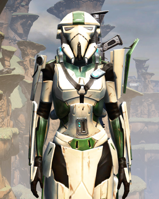 War Hero Eliminator Armor Set Preview from Star Wars: The Old Republic.