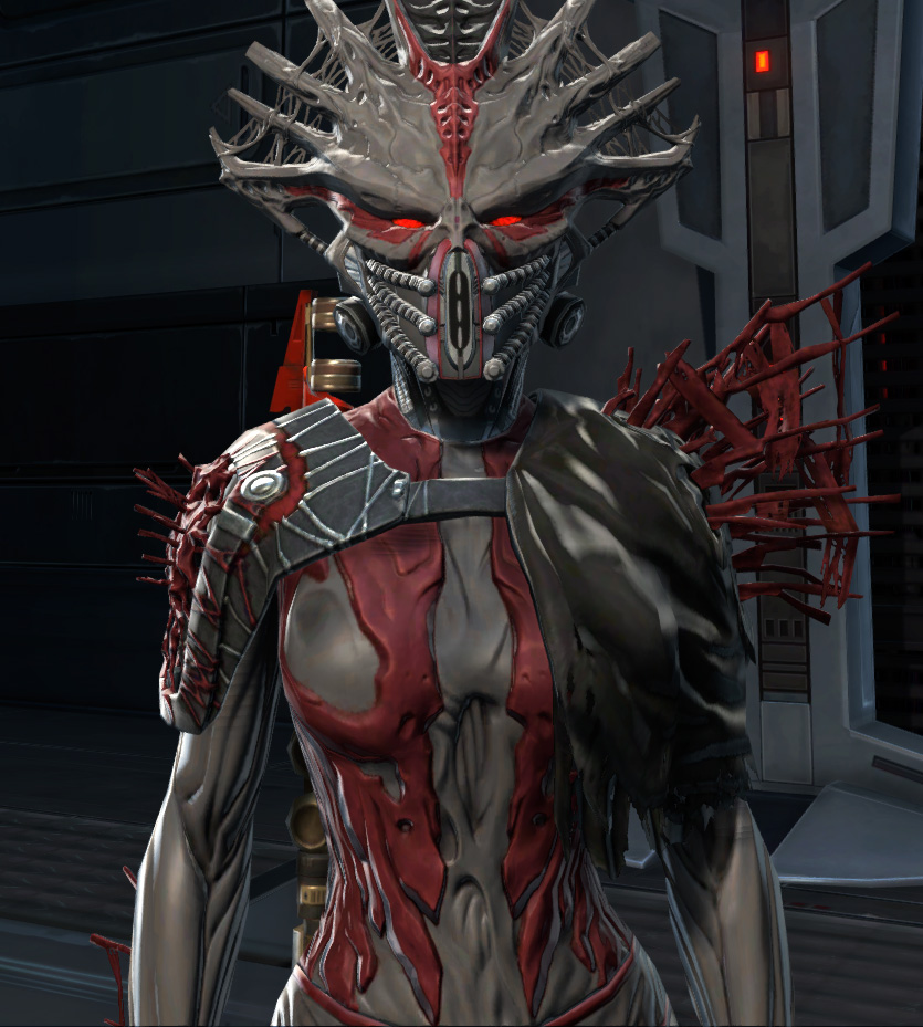 War Hero Stalker (Rated) Armor Set from Star Wars: The Old Republic.