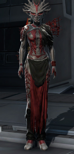 War Hero Stalker (Rated) Armor Set Outfit from Star Wars: The Old Republic.