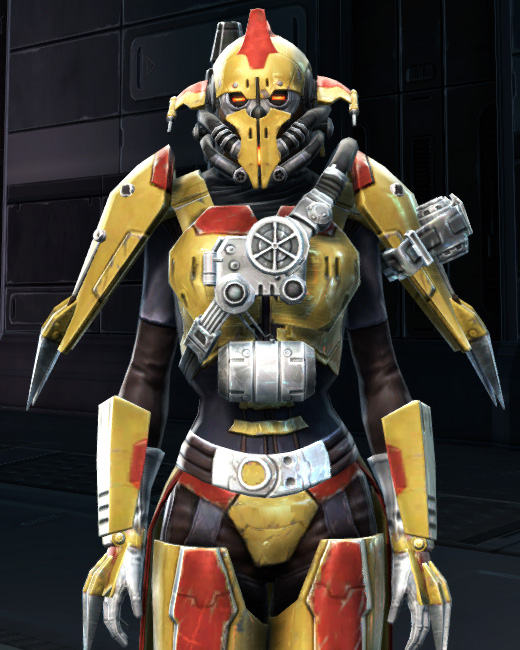 War Hero Combat Tech (Rated) Armor Set Preview from Star Wars: The Old Republic.