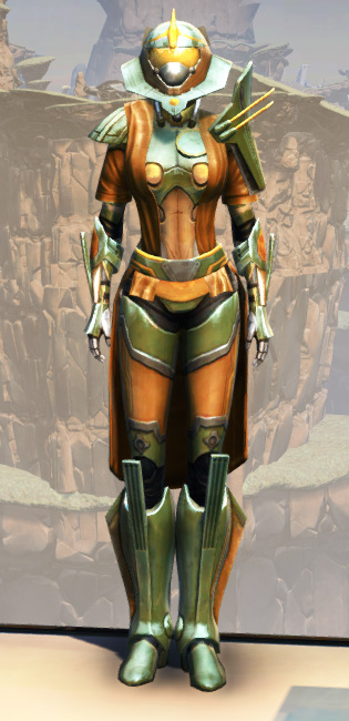 War Hero Vindicator Armor Set Outfit from Star Wars: The Old Republic.
