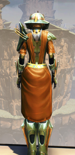 War Hero Vindicator Armor Set player-view from Star Wars: The Old Republic.