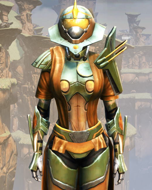 War Hero Vindicator Armor Set Preview from Star Wars: The Old Republic.