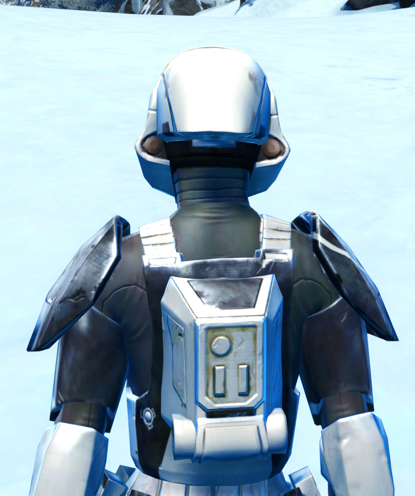 Xonolite Asylum Armor Set detailed back view from Star Wars: The Old Republic.