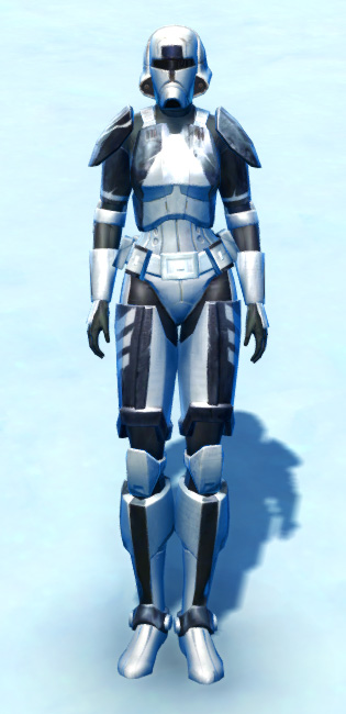 Xonolite Asylum Armor Set Outfit from Star Wars: The Old Republic.