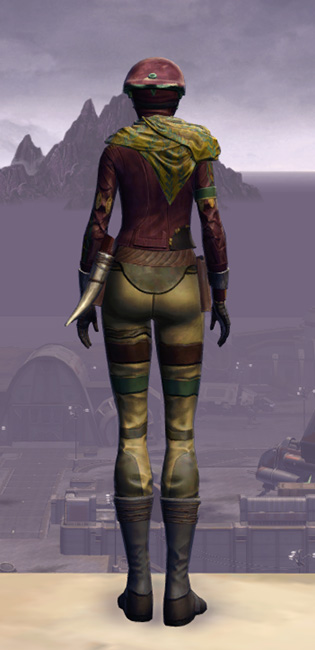 Xonolite Onslaught Armor Set player-view from Star Wars: The Old Republic.