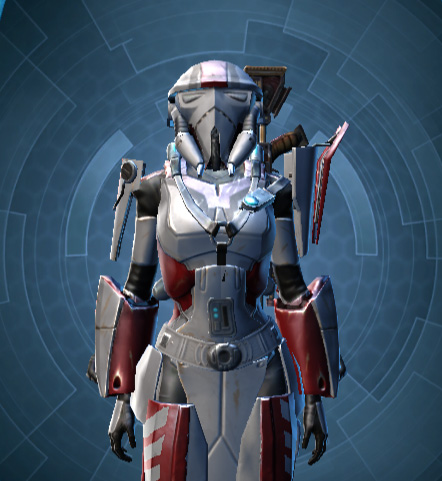 SWTOR Light Gray and Deep Red (GSI) Dye Module