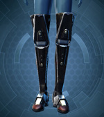 Fortified Electrum Boots