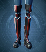 Resilient Lacqerous Boots