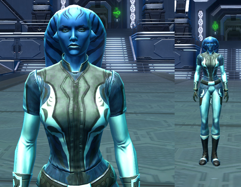 Organa Statesman Armor screenshot by Narrator, Jung Ma from SWTOR.