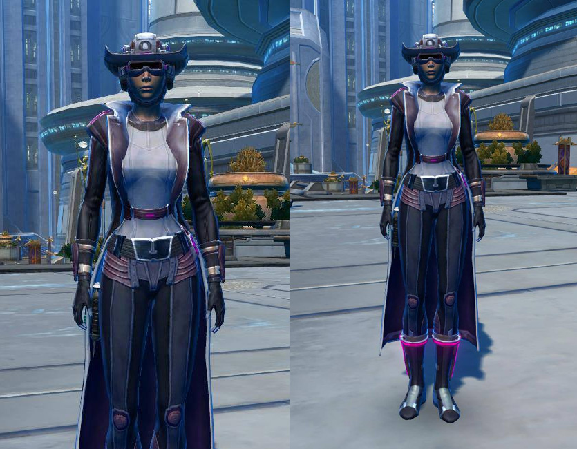 Voltaic Vandal Armor Set   Armour screenshot by  from SWTOR.