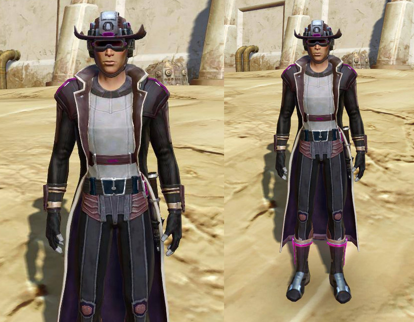 Voltaic Vandal Armor Set Neutral Adaptive armor screenshot from SWTOR.