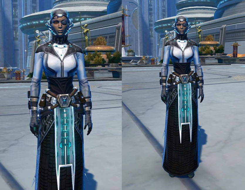 Energetic Combatant Armor Set   Armour screenshot by  from SWTOR.