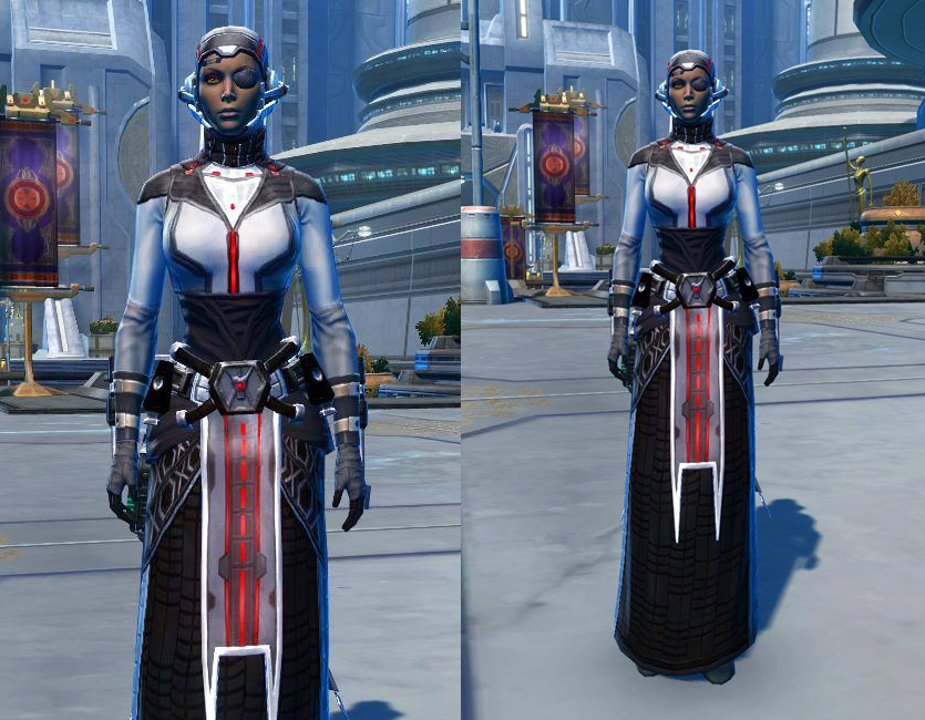 Potent Combatant Armor Set   Armour screenshot by  from SWTOR.