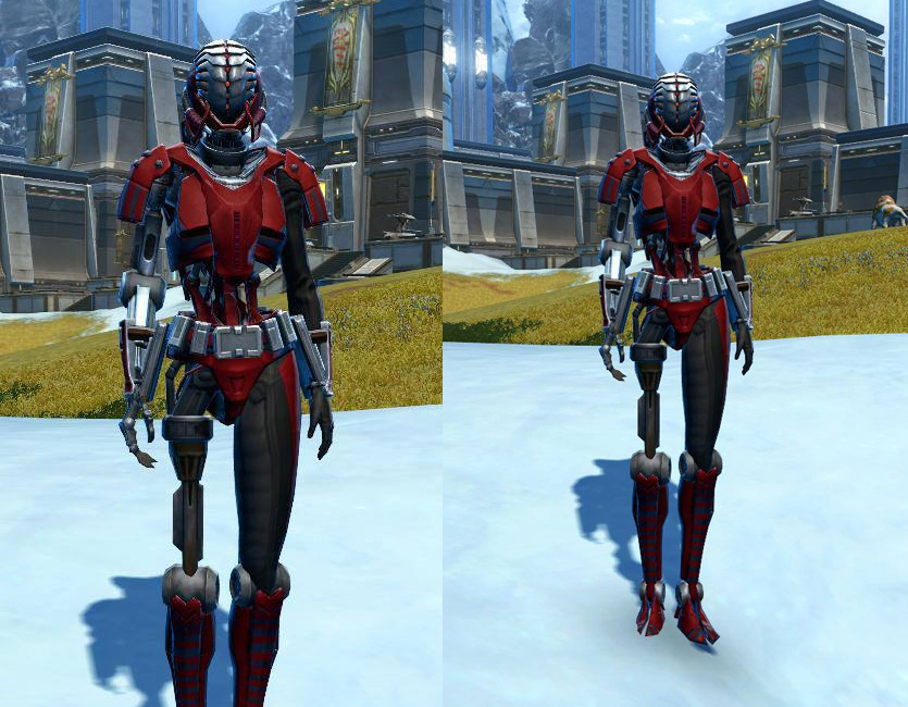 Series 505 Cybernetic Armor Set   Armour screenshot by  from SWTOR.